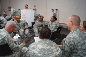 Team Building Workshop for the U.S. Army Reserves, ESC